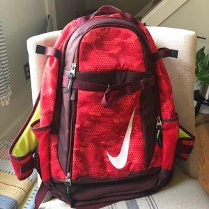 Nike backpack - baseball - red